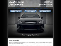 Website Template Sample #001