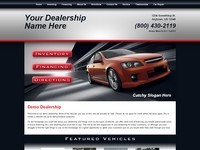 Website Template Sample #002