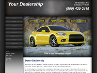 Website Template Sample #005