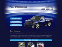 Website Template Sample #008