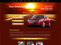 Website Template Sample #009