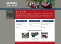 Website Template Sample #112