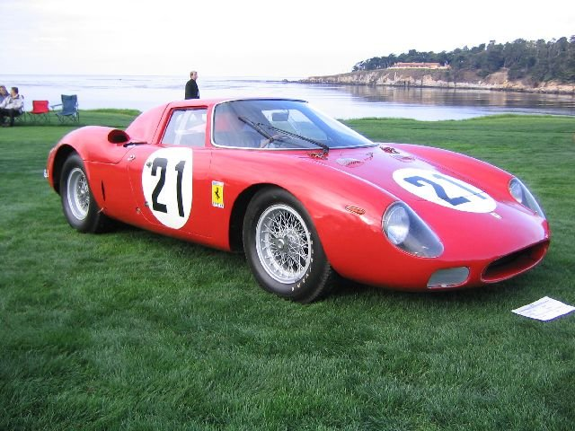 Here Some Photos Of The 2004 Pebble Beach Concours D Elegance In Monterey California Also Pictures Ferrari Club America National Meet