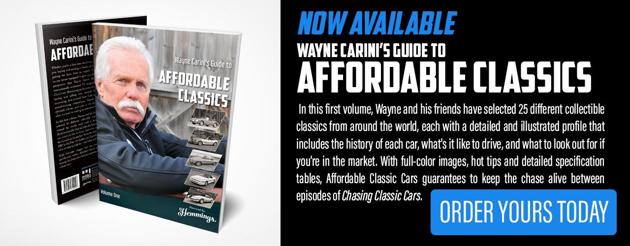 Now available: Wayne Carini's Guide to Affordable Classics Volume 1