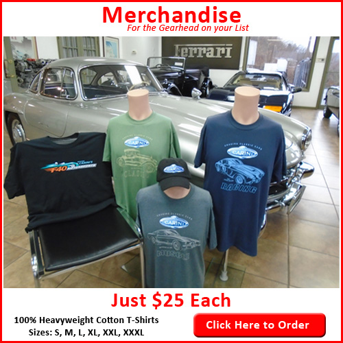 Chasing Classic Cars T-Shirt Orders